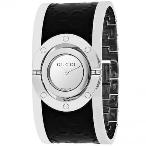 Gucci Twirl YA112441 Women's Silver Dial Watch