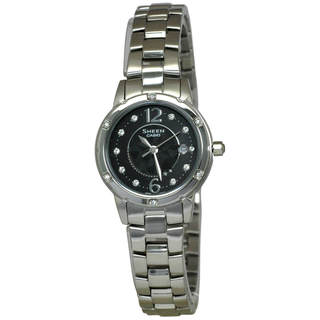 Casio Sheen SHE4021D-1A Women's Black Dial Watch