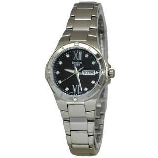 Casio Sheen SHE4022D-1A Women's Black Dial Watch