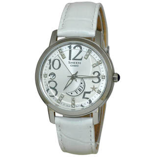 Casio Sheen SHE4028L-7A Women's Silver Dial Watch