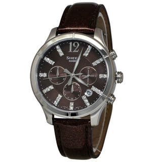 Link to Casio Sheen  Women's Brown Dial Watch Similar Items in Women's Watches