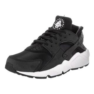 Nike Women's Air Huarache Run Black Synthetic Leather Running Shoes