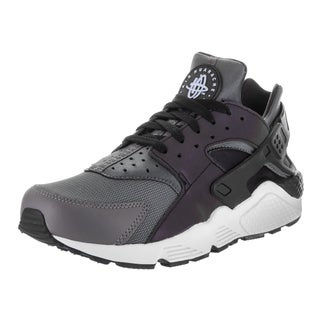 Nike Men's Air Huarache Run Grey Synthetic Leather Running Shoe