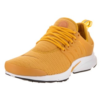 Nike Women's Air Presto Goldcolored Synthetic-leather Running Shoes
