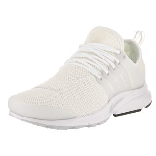 Nike Women's Air Presto White Synthetic Leather Running Shoes (2 options available)
