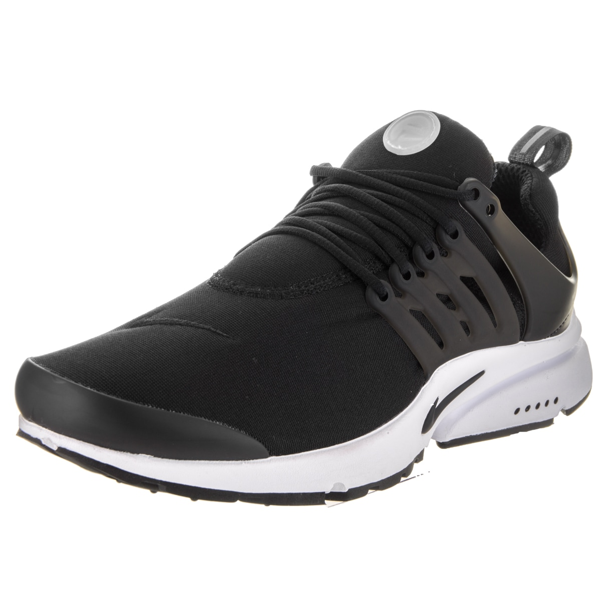 Nike Men's Air Presto Essential Black Synthetic Leather R...