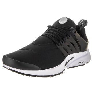 Nike Men's Air Presto Essential Black Synthetic Leather Running Shoes