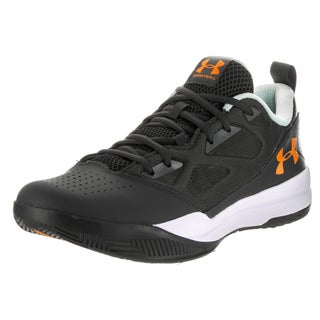 Under Armour Men's Jet Low Faux Leather Basketball Shoe