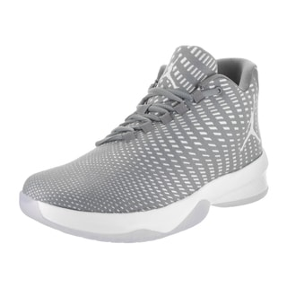 Jordan Men's Jordan B. Fly Grey Textile Basketball Shoes
