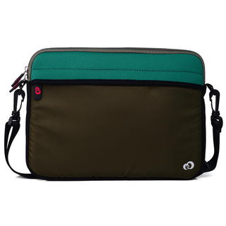 KroO 11-Inch Laptop/Tablet Messenger Bag With Removeable Shoulder Strap (5 options available)
