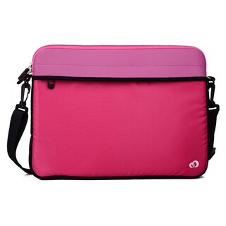 KroO 13.3-Inch Laptop/Tablet Messenger Bag With Removeable Shoulder Strap (Option: Pink)