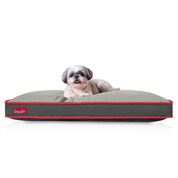 Brindle Indoor Outdoor Waterproof Dog Bed