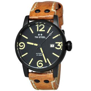 TW Steel Maverick MS35 Men's Black Dial Watch