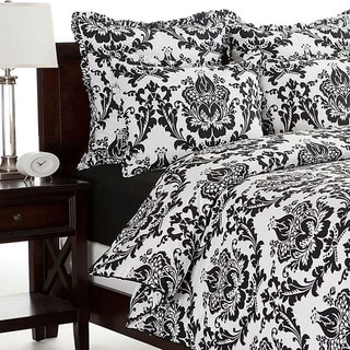 Morton Cotton Black and White Duvet Cover