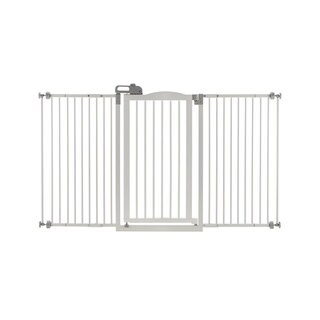 Richell Tall and Wide One-Touch Pressure Mounted Pet Gate