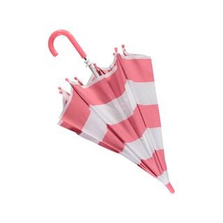 Rockin Baby Girls' Pink Stripe Umbrella