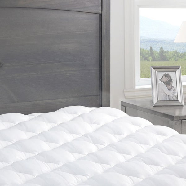 Kotter Home Pressure Relief Mattress Pad with Fitted Skirt