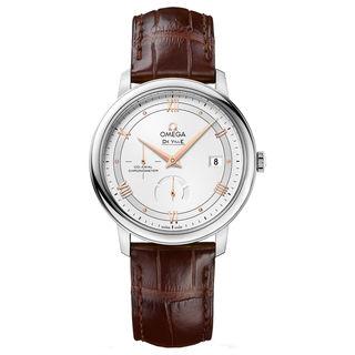 Omega De Ville 42413402102002 Men's Silver Dial Watch