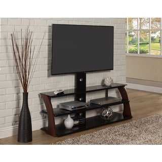 Sandberg Furniture Abigail Black TV Stand