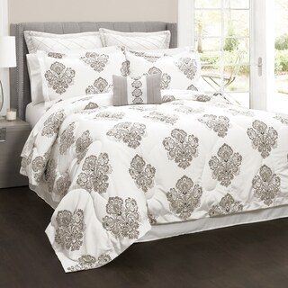 Lush Decor Elizabeth Damask 6-Piece Comforter Set