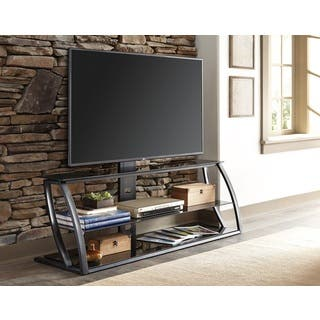 Sandberg Furniture Mila Black Metal Swivel TV Stand https://ak1.ostkcdn.com/images/products/14105030/P20712783.jpg?impolicy=medium