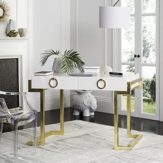 Safavieh Couture High Line Collection Maia 2-Drawer Lacquer Desk