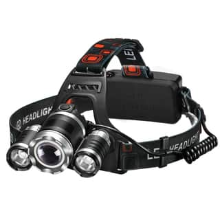 High Power Headlamp Rechargeable LED Lamp with 4 Light Modes,Perfect for Hiking Camping Riding Fishing Hunting|https://ak1.ostkcdn.com/images/products/14105055/P20712809.jpg?impolicy=medium