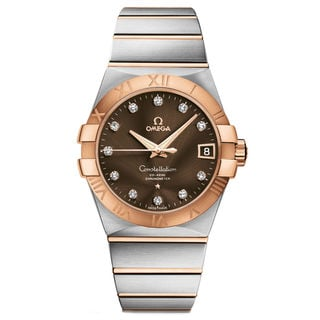 Omega Constellation 12320382163001 Men's Brown Dial Watch