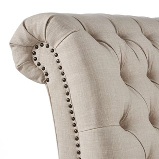 Gracewood Hollow Balogh Tufted Oversized Chaise Lounge (5 options available)