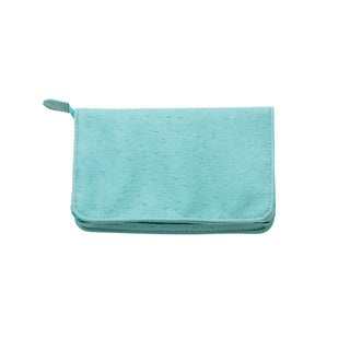 Reed and Barton Pisa Turquoise Zippered Jewelry Case