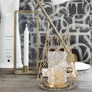 Link to 2017 New Adeco Flower Wire Lantern Candle Holder (Set of 2) Similar Items in Decorative Accessories
