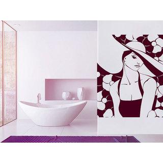 Makeup Mural Make Up Girl Butterfly Woman Fashion Cosmetic Hairdressing Hair Beauty Salon Sticker De