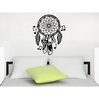 Dreamcatcher Dream Catcher Feathers Night Symbol Indian Pointe Dance Sticker Decall size 44x60 Color
