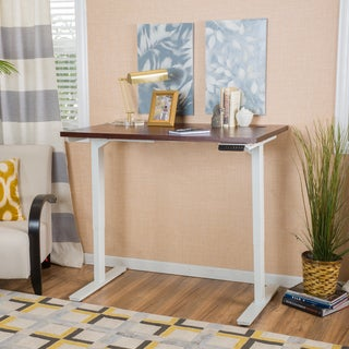 Jameson 58-inch Desk with Adjustable Height and Dual Powered Base by Christopher Knight Home