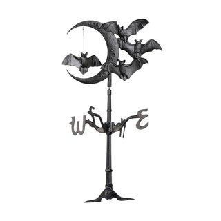 White Hall Halloween Bat Roof Top Weathervane - Black