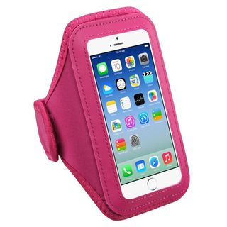 Insten Hot Pink Universal Vertical Pouch 5.7 x 3.1 x 0.5-inch Sport Armband for iPhone 6s Plus / 6/ Samsung Galaxy S7/ S6