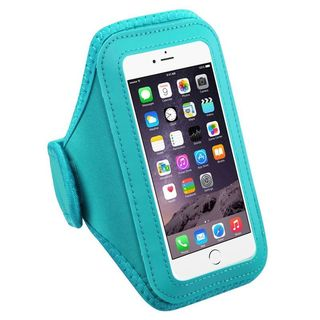 Insten Baby Blue Universal Vertical Pouch Sport Armband