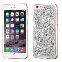 Insten Silver Hard Snap-on Rhinestone Bling Case Cover For Apple iPhone 6 Plus/ 6s Plus