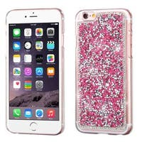 Insten Hot Pink Hard Snap-on Rhinestone Bling Case Cover For Apple iPhone 6 Plus/ 6s Plus