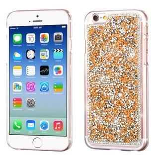 Insten Rose Gold Hard Snap-on Rhinestone Bling Case Cover For Apple iPhone 6/ 6s