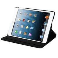 Insten Black Swivel Leather Case Cover with Stand For Apple iPad Air
