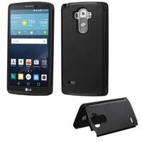 Insten Black Hard Snap-on Rubberized Matte Case Cover with Card Slot For LG G Stylo/ G Vista 2