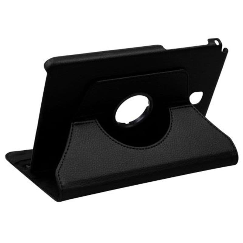 Insten Black Swivel Leather Case Cover with Stand For Sam...