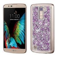 Insten Purple Hard Snap-on Rhinestone Bling Case Cover For LG K10