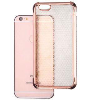 Insten Rose Gold TPU Rubber Candy Skin Case Cover For Apple iPhone 6 Plus/ 6s Plus