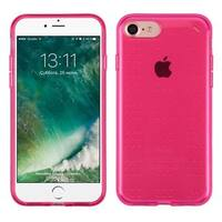 Insten Hot Pink TPU Rubber Candy Skin Case Cover For Apple iPhone 7