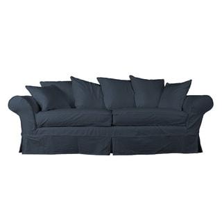 Eco-friendly Elizabeth Farmhouse Slipcovered Sofa