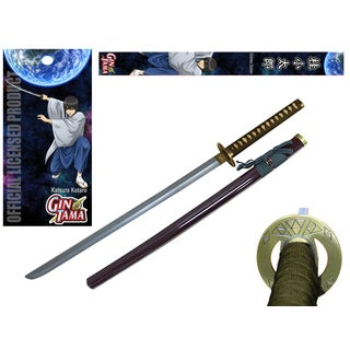 Gintama Katsura Metal Handle Foam Blade Officially Licensed Sword