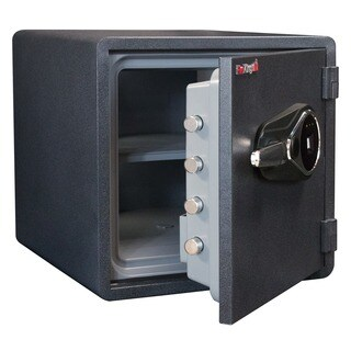 FireKing Business Class 18 in. H x 18.5 in. W x 19 in. D 1-Hour Rated Fire Safe, Fingerprint Scanner, MagPROOF Anti-magnet Lock