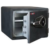FireKing Business Class 1-Hour Rated 14 in. H x 18.5 in. W x 19 in. D Fingerprint Scanner Lock Fire Safe